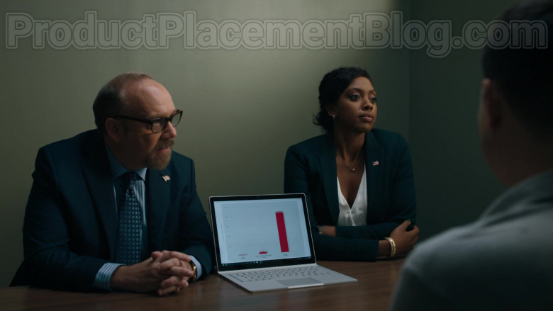 Microsoft Surface Laptop Used by Paul Giamatti & Condola Rashad in Billions S05E01 (2)