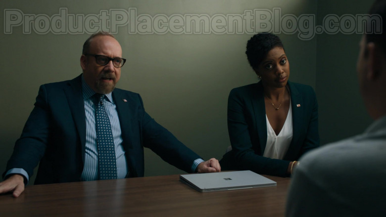 Microsoft Surface Laptop Used by Paul Giamatti & Condola Rashad in Billions S05E01 (3)