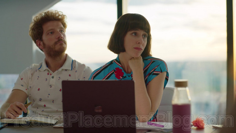 Microsoft Surface Laptop Used by Paula Malia as Carmen in Valeria S01E06 My Garden Is Dry (2020)