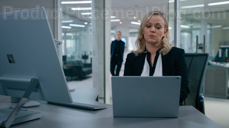Microsoft Surface Notebook and AIO Computer Used by Cast Members in Billions S05E03 Beg, Bribe, Bully (2020)