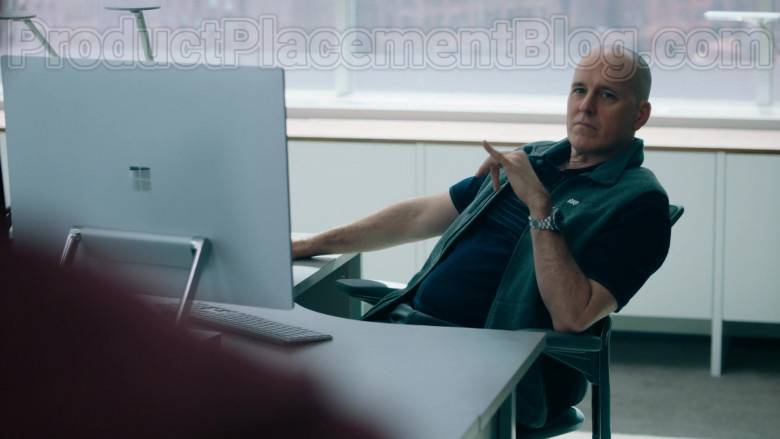 Microsoft Surface Studio Computer Used by Kelly AuCoin as 'Dollar' Bill Stearn in Billions TV Show [S05E02] (1)
