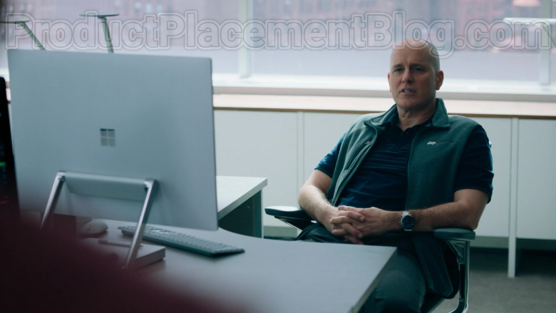 Microsoft Surface Studio Computer Used by Kelly AuCoin as 'Dollar' Bill Stearn in Billions TV Show [S05E02] (2)