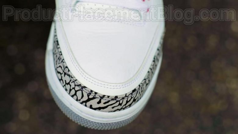 "Moneybagg Yo Wearing Nike Air Jordan 3 Retro Sneakers in ""Me Vs Me"" 2020 Official Music Video (1)"