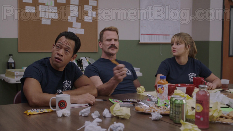 Naked Juice and M&M's Candies in Tacoma FD S02E06 The C-Team (2020)