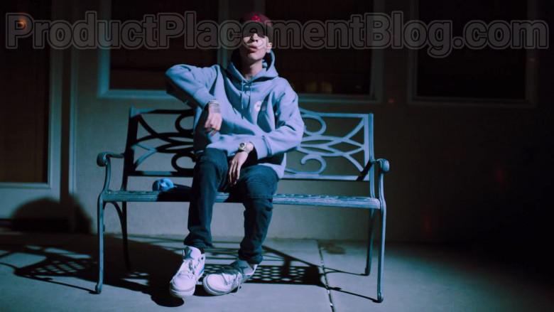 Natanael Cano Wearing Air Jordan 3 Shoes in Arriba Music Video (2)