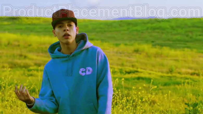 """Natanael Cano Wearing Dior Oversized Hoodie Daniel Arsham Print Outfit in """"Arriba"""" Music Video (2)"""