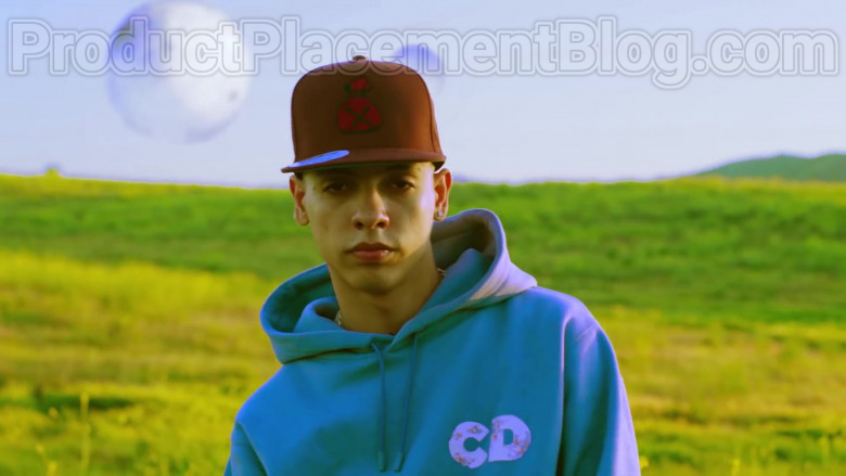 """Natanael Cano Wearing Dior Oversized Hoodie Daniel Arsham Print Outfit in """"Arriba"""" Music Video (3)"""