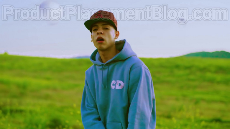 """Natanael Cano Wearing Dior Oversized Hoodie Daniel Arsham Print Outfit in """"Arriba"""" Music Video (4)"""