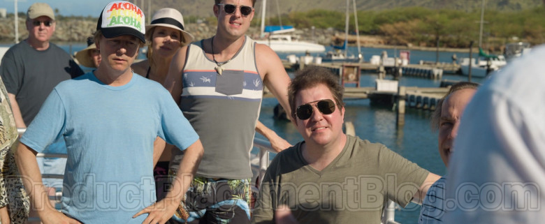 Nick Swardson as Nate Wearing Ray-Ban Aviator Sunglasses in The Wrong Missy Movie by Netflix (1)
