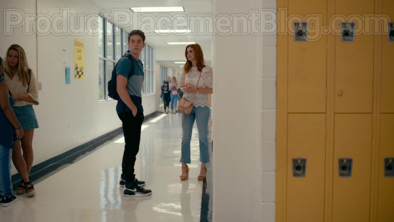 Nike Air Jordan 3 Tinker Sneakers of Carson Rowland as Tyler 'Ty' Townsend in Sweet Magnolias S01E03 Netflix TV Series (2)