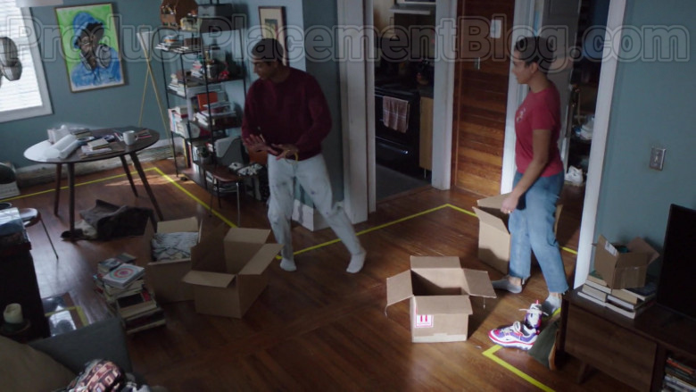 Nike Sneakers of Michele Weaver as Luly Perry in Council of Dads S01E02 I'm Not Fine (2020)