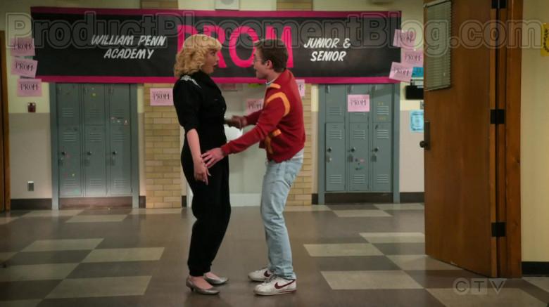 Nike Sneakers of Sean Giambrone as Adam in The Goldbergs S07E23 Pretty in Pink (2020)