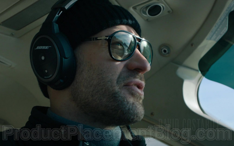 Persol Glasses and Bose Headset of Corey Stoll as Michael Prince in Billions TV Show