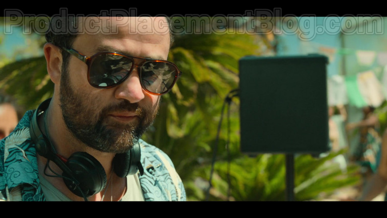 Quay Australia Sunglasses For Men of Actor Daniel Mays as Marcus in White Lines TV Show by Netflix [S01E02, 2020] (2)