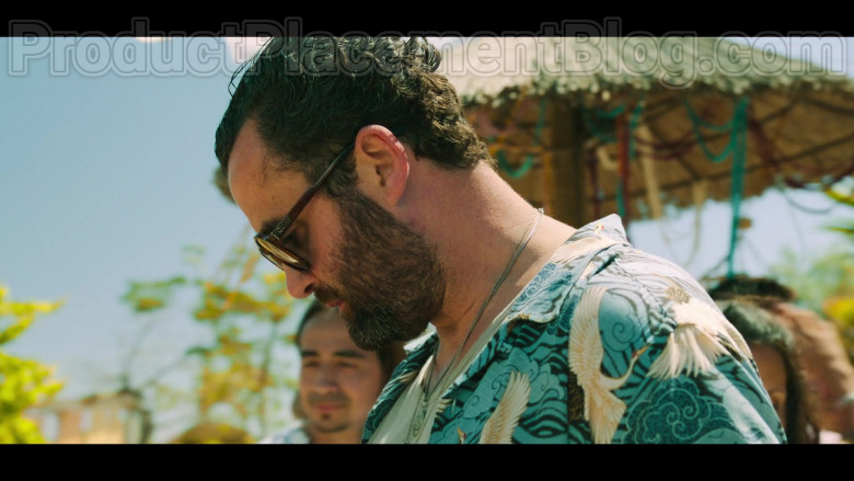 Quay Australia Sunglasses For Men of Actor Daniel Mays as Marcus in White Lines TV Show by Netflix [S01E02, 2020] (3)