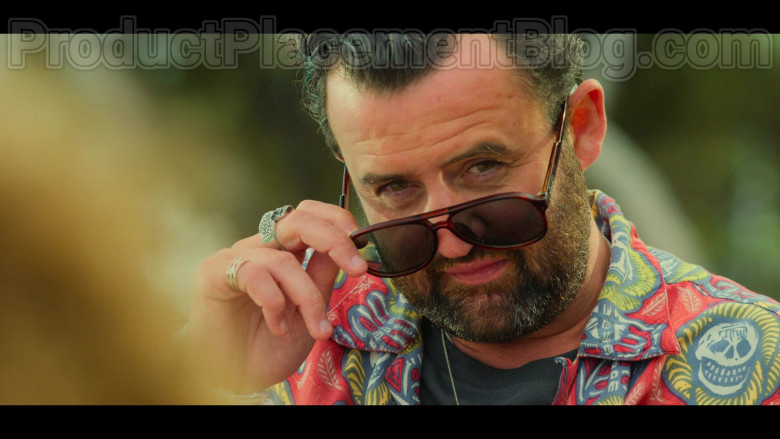 Quay Men's Sunglasses Worn by Actor Daniel Mays as Marcus in White Lines S01E05 [2020, Photo by Netflix] (2)