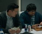 Red Bull Energy Drink and Diet Coke Soda Cans in Billions S0...