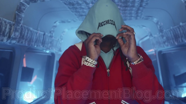 "Ricchezza Forever Hoodie Outfit in ""Racks 2 Skinny"" by Migos (2)"