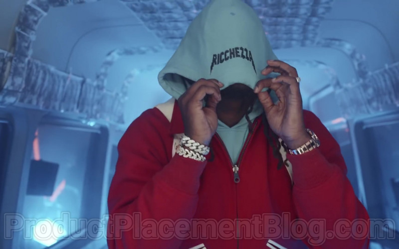 """Ricchezza Forever Hoodie Outfit in """"Racks 2 Skinny"""" by Migos (2)"""