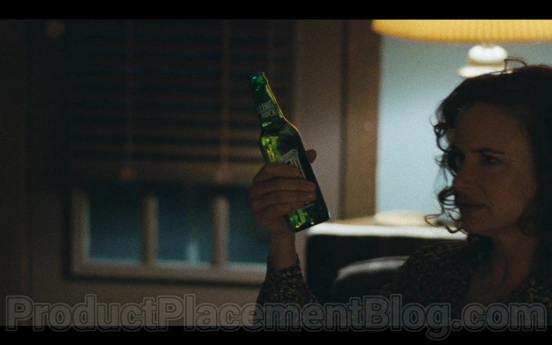 Rolling Rock Beer Enjoyed by Juliette Lewis in I Know This Much Is True [Episode 1, 2020]