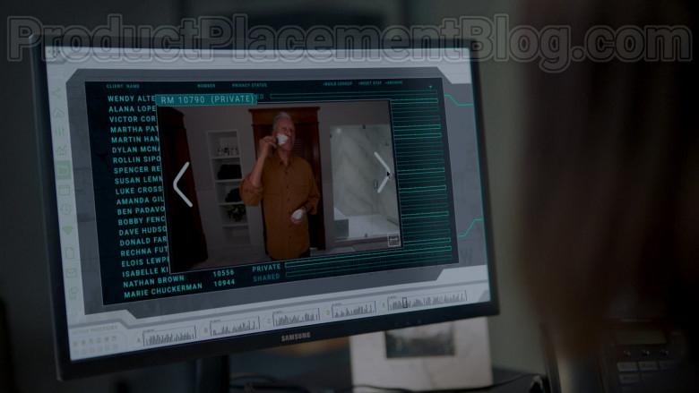 Samsung Computer Monitors in Upload S01E02 Five Stars (2020)