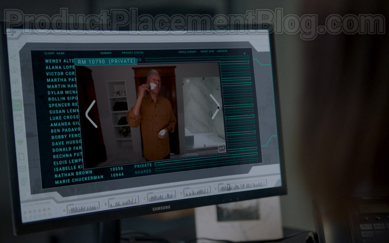 Samsung Computer Monitors in Upload S01E02 Five Stars (2020)