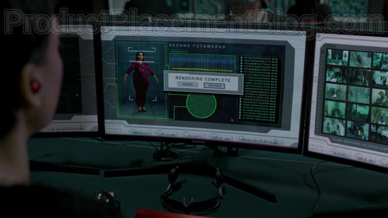 Samsung Monitors in Upload S01E01 (1)