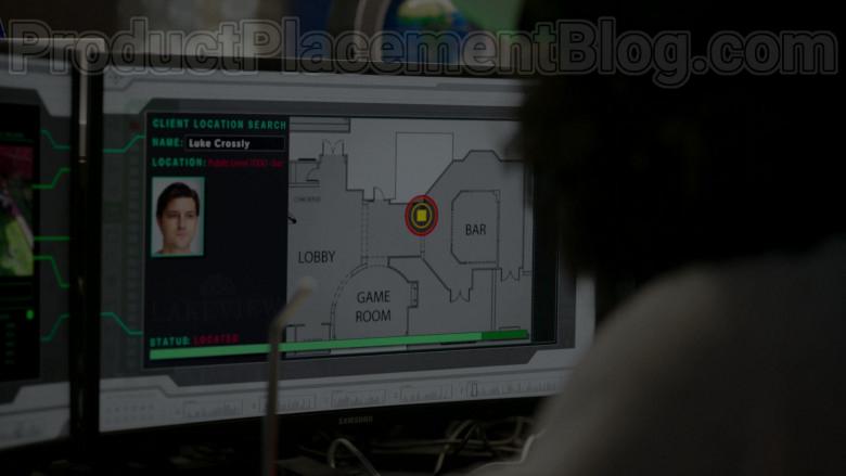 Samsung Monitors in Upload S01E05 The Grey Market (2020)