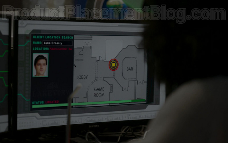 Samsung Monitors in Upload S01E05 The Grey Market (2020)