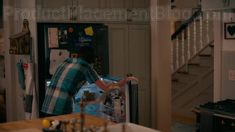 Samsung Refrigerator in Sweet Magnolias S01E10 TV Show by Netflix (1)