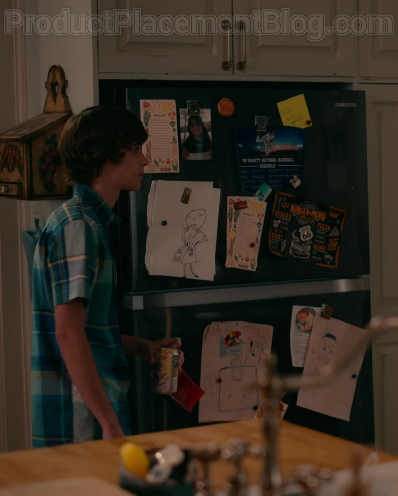 Samsung Refrigerator in Sweet Magnolias S01E10 TV Show by Netflix (2)