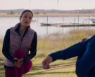 The North Face Vest of Sarah Wayne Callies in Council of Dad...