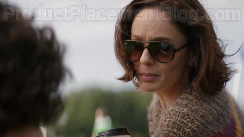 Sarah Wayne Callies as Dr. Robin Perry Wearing Ray-Ban RB4125 Cats 5000 Sunglasses in Council of Dads TV Show (3)