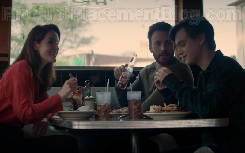 Sol Beer Bottle Held by Chris Evans in Defending Jacob S01E08 After (2020)