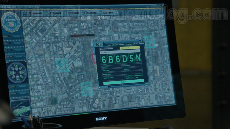 Sony Computer Monitor in The Blacklist S07E18 Roy Cain (2020)