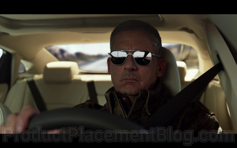 Steve Carell as General Mark R. Naird Wearing AO Eyewear Original Pilot Sunglasses in Space Force TV Show (1)