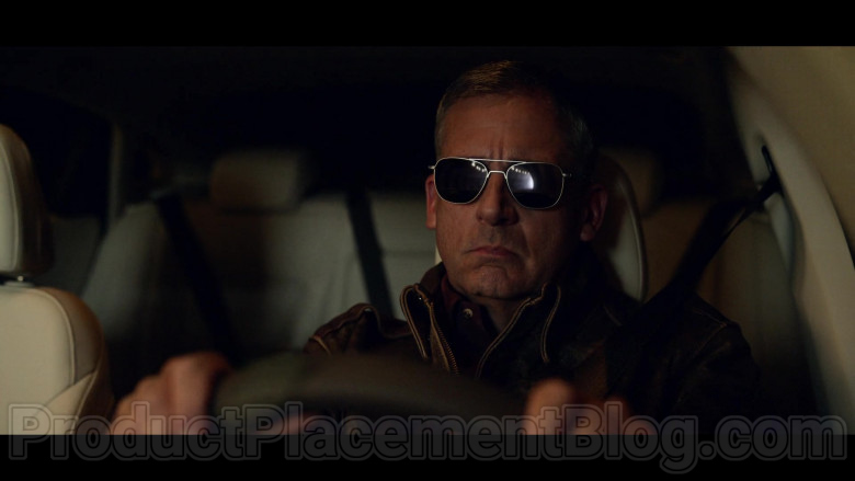 Steve Carell as General Mark R. Naird WearingRandolph Engineering Pilot Sunglasses in Space Force TV Show (2)