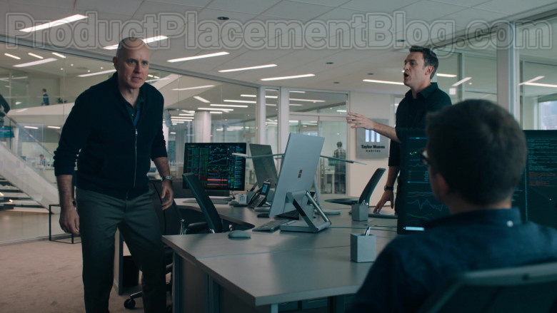 Surface Studio All-In-One Computer by Microsoft in Billions S05E02 The Chris Rock Test (2021)