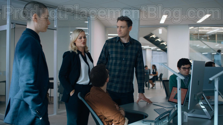 Surface Studio All-In-One Computers by Microsoft Used by Cast Members and Actors in Billions S05E03 TV Show (2)