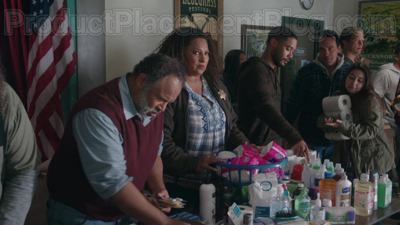 TRESemmé, Signature Care Epsom Salt, Softsoap, Suave in Bless This Mess TV Show (1)