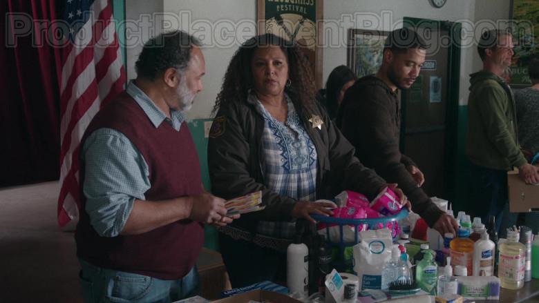 TRESemmé, Signature Care Epsom Salt, Softsoap, Suave in Bless This Mess TV Show (2)