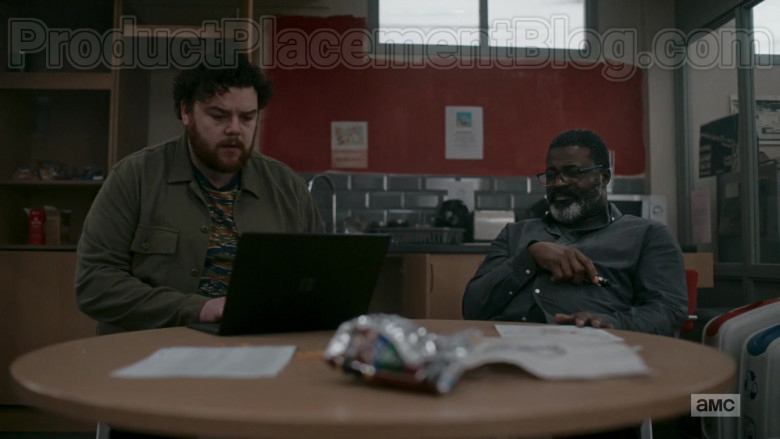 TV Series Actors Using Microsoft Surface Laptop in Killing Eve S03E07 (1)