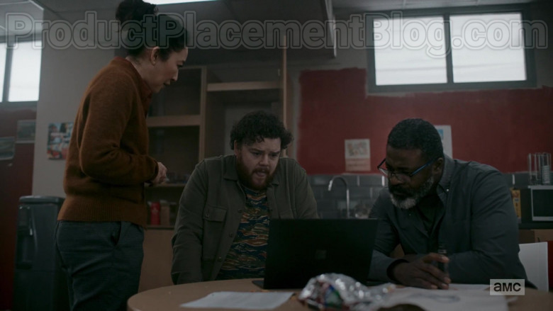 TV Series Actors Using Microsoft Surface Laptop in Killing Eve S03E07 (2)