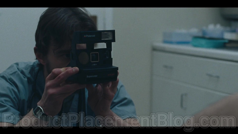 TV Show Actor Using Polaroid Photography Instant Camera in I Know This Much Is True S01E02 (2020)