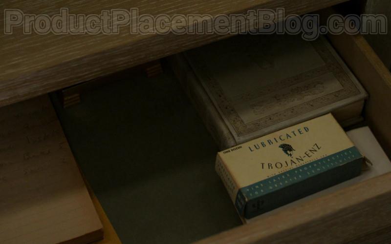 Trojan ENZ Lubricated Condoms Seen in Penny Dreadful City of Angels S01E04 TV Series