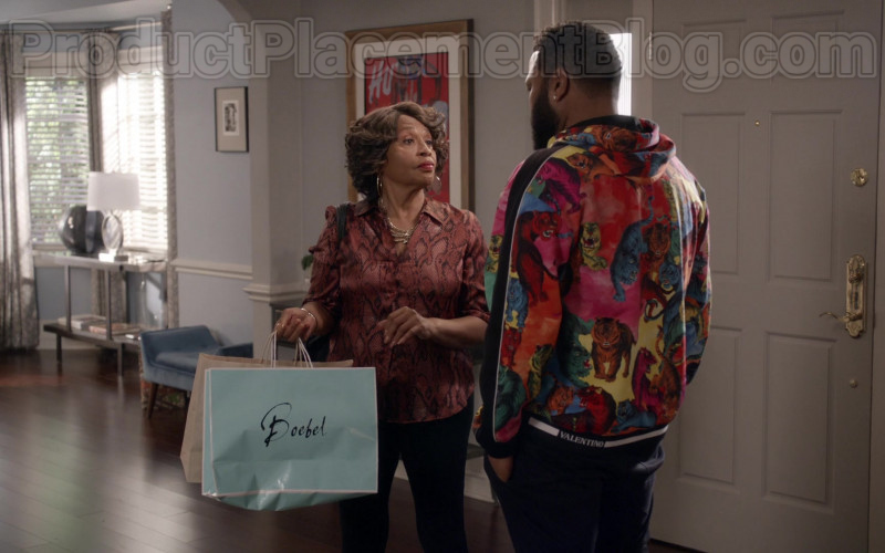 Valentino Multi-Tiger Pullover Hoodie of Anthony Anderson as Dre in Black-ish TV Series (1)