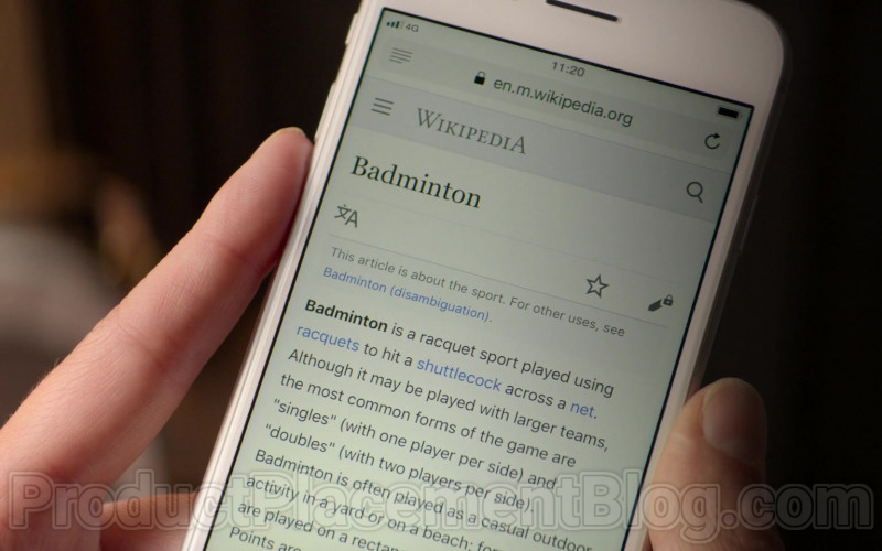 Wikipedia Online Encyclopedia in Trying S01E08 We Know the Way Out (2020)