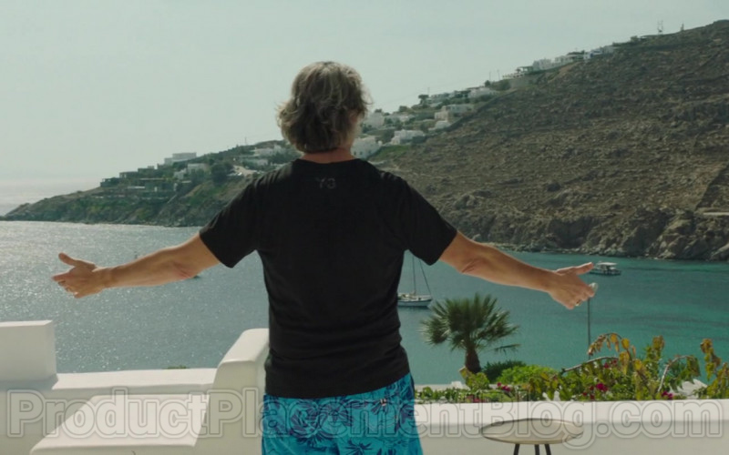 Y-3 T-Shirt of Steve Coogan in Greed (2019)
