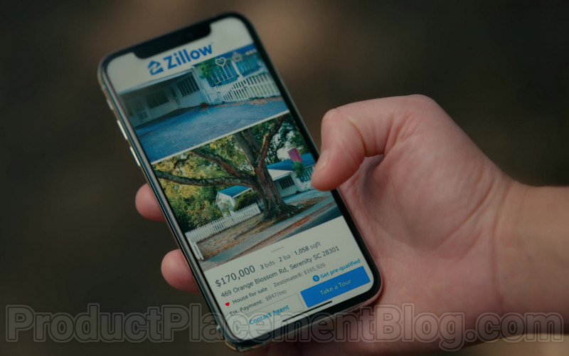 Zillow Real Estate Marketplace in Sweet Magnolias S01E07 TV Show by Netflix (1)