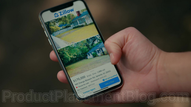 Zillow Real Estate Marketplace in Sweet Magnolias S01E07 TV Show by Netflix (2)